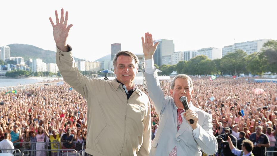 Bolsonaro e RR Soares