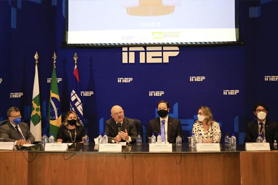 Ministro da Educação, Milton Ribeiro, apresenta os dados do Ideb