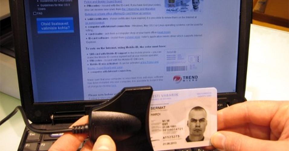 Votação online - Em 2007, os estonianos foram os primeiros a fazer uma eleição geral pela internet