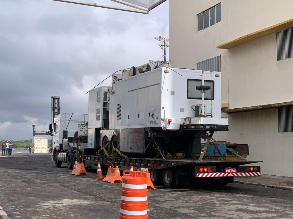Scanner de contêineres chega ao Porto de Natal para coibir ação do tráfico internacional de drogas