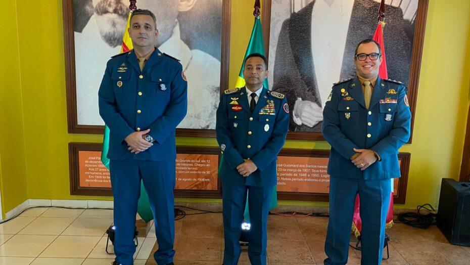 Oficiais do corpo de bombeiros militar do rn são condecorados no estado do acre