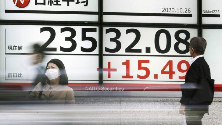 Aumento dos casos de covid-19 na europa e impasse fiscal nos eua deixam bolsas no vermelho na Ásia