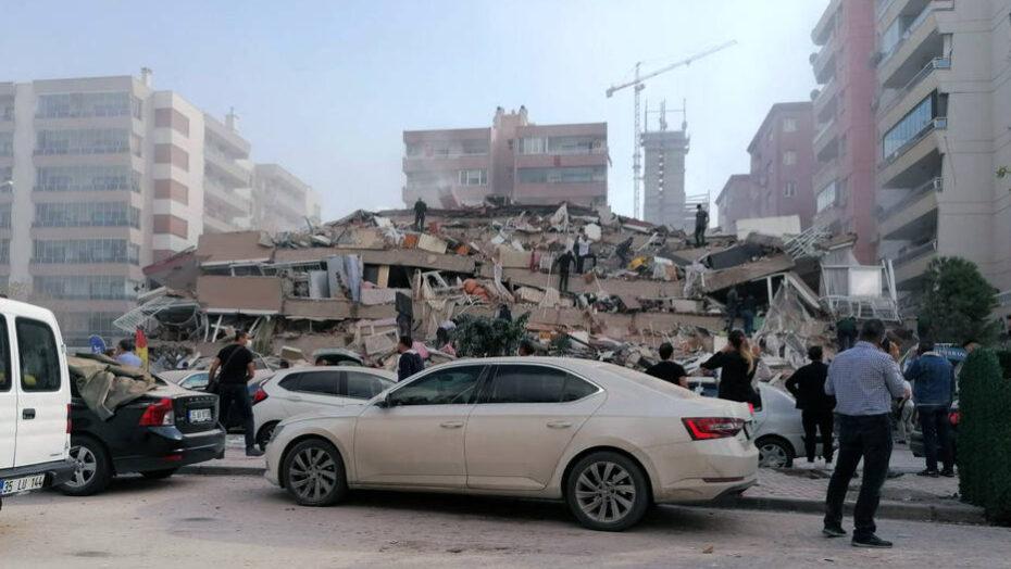 Terremoto de magnitude 6,8 no mar egeu deixa ao menos quatro mortos e 120 feridos na turquia