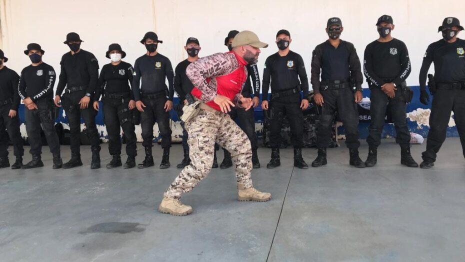 Seap forma nova turma no curso de táticas policiais