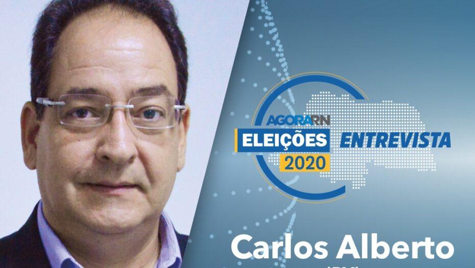 Carlos alberto é o primeiro convidado da série de entrevistas com candidatos à prefeitura de natal
