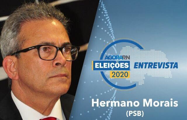 Agora rn entrevista ao vivo o candidato à prefeitura de natal hermano morais