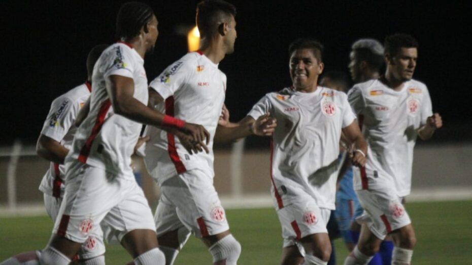 América goleia afogados-pe por 4 a 0 e garante classificação na série d