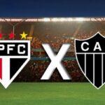 São paulo e américa-mg decidem em casa nas semifinais da copa do brasil