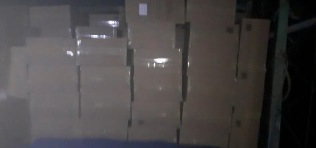 Polícia apreende carga de cigarros contrabandeados em barco encalhado no rn
