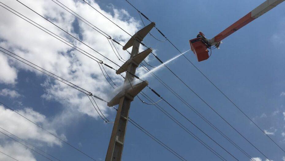 Cosern realiza manutenção em rede elétrica para  prevenir ocorrências durante o verão