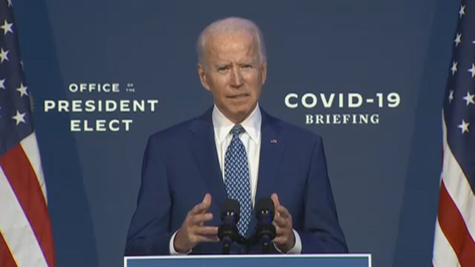 Biden faz apelo por uso de máscaras: 'pequenos atos levam a grandes conquistas'