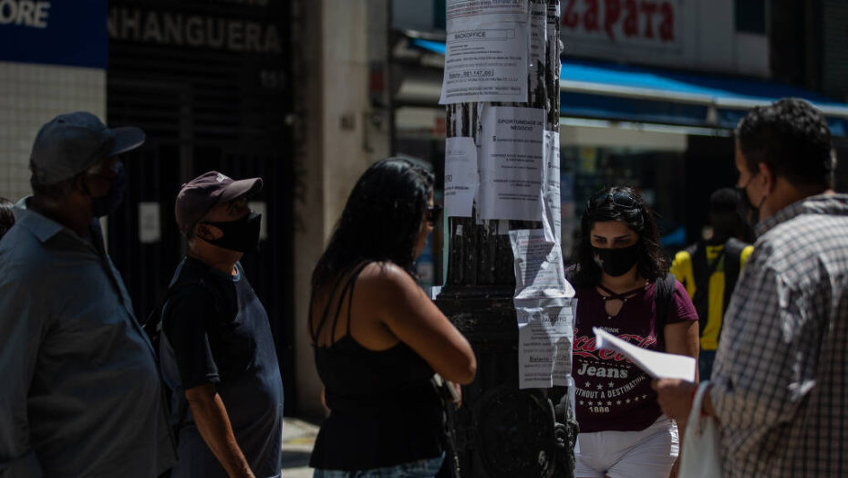 Descolamento do desemprego dos jovens bate recorde - Agora RN