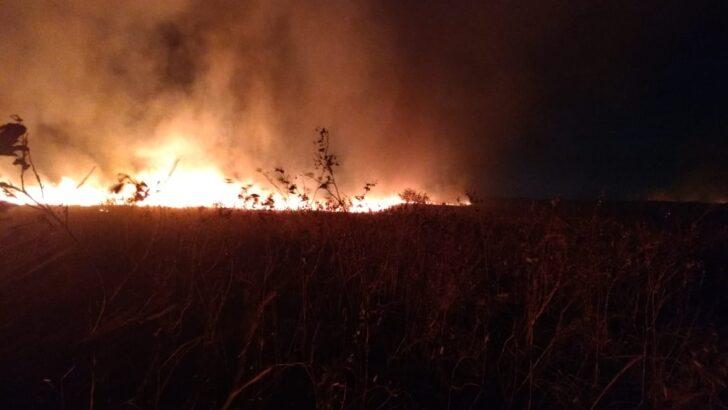 Corpo de bombeiros do rn controla incêndio florestal em ceará-mirim