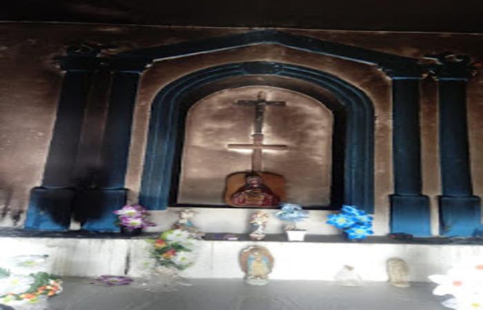 Criminosos incendeiam capela do cemitério público de campo grande
