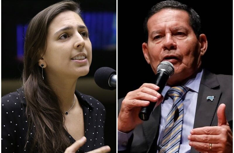 """Natália bonavides critica mourão após vice dizer que não existe racismo no brasil: """"declaração canalha"""""""