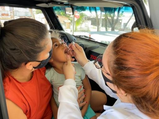 Primeiro dia do drive contra a polio tem pouca procura em natal