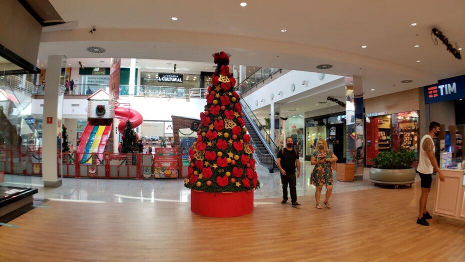 Cautela é a palavra de ordem dos shoppings centers para o natal