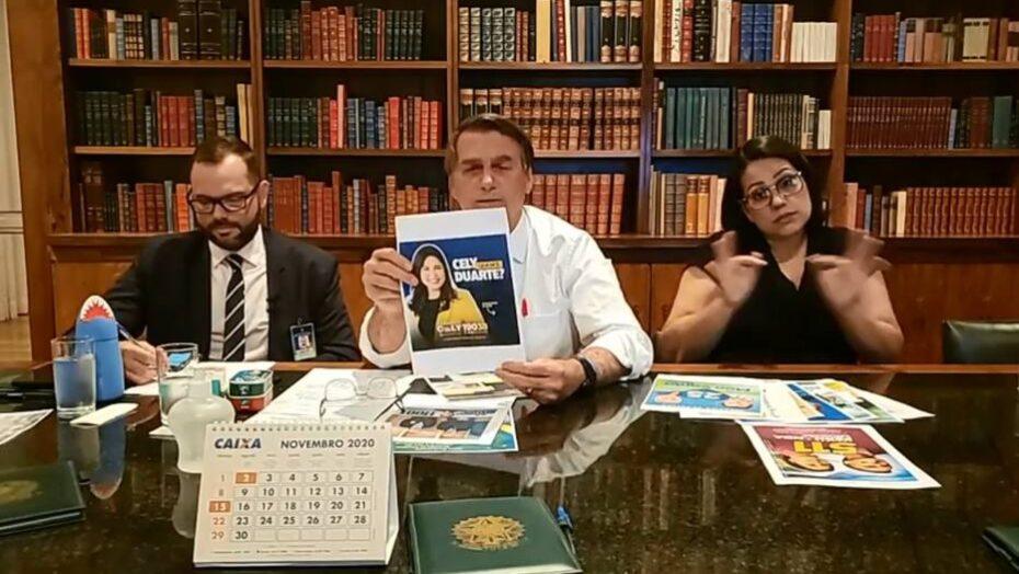 Mp vai apurar propaganda eleitoral de bolsonaro em 'live'