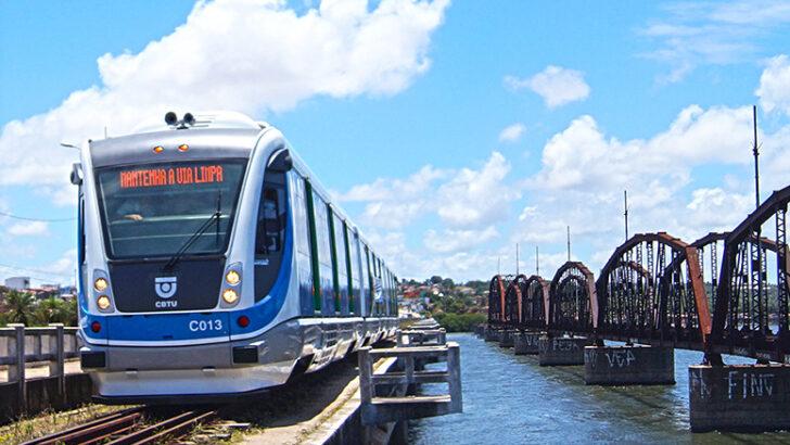 Funcionamento dos trens urbanos no feriado de nossa senhora da apresentação