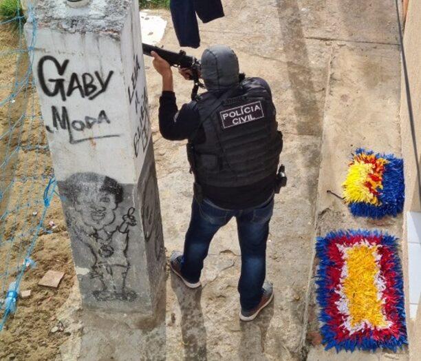 """Polícia civil deflagra operação """"palazzo"""" e prende suspeitos por tráfico de drogas em natal"""
