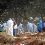 Com 630 novos óbitos, brasil ultrapassa 170 mil mortes pela covid-19