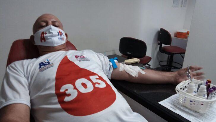 Maior doador de sangue do