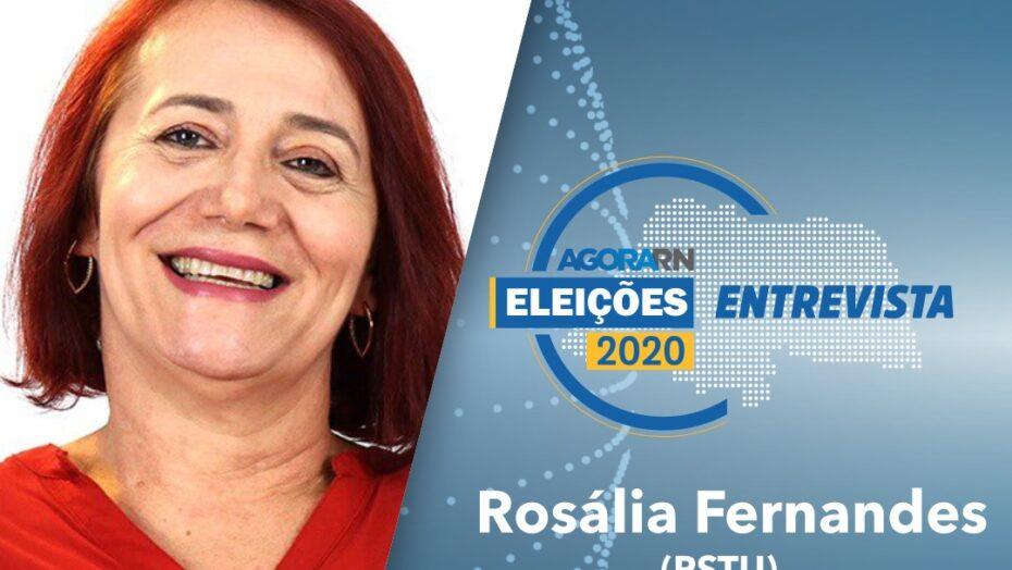 Agora rn entrevista ao vivo a candidata à prefeitura do natal rosália fernandes