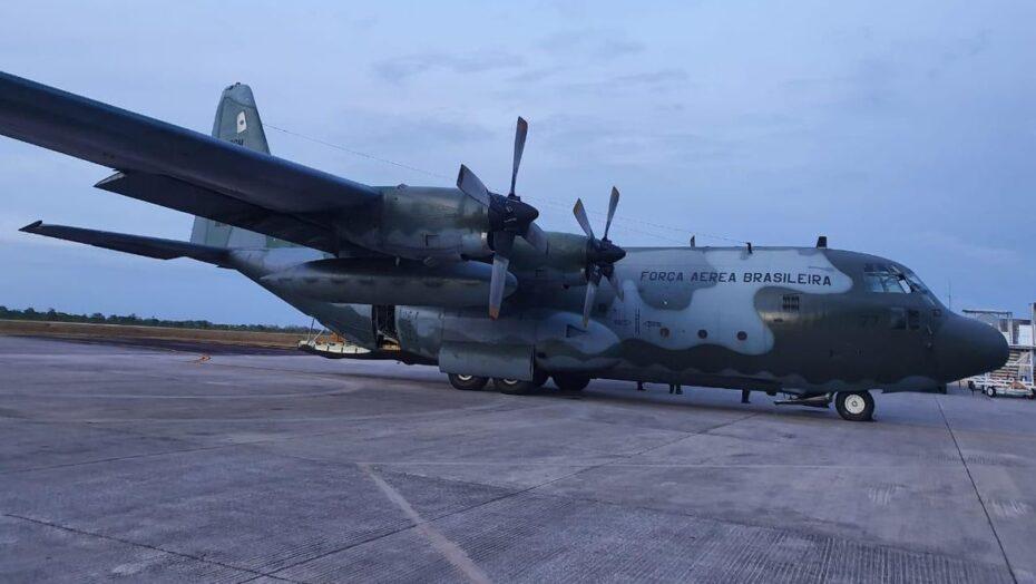 Aviões da fab levam geradores para o amapá