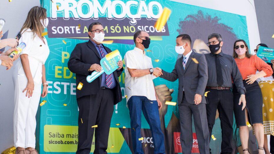 Sicoob potiguar segue seu plano de expansão e reestrutura sua sede no tirol