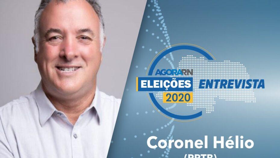 Agora rn entrevista ao vivo a candidato à prefeitura do natal coronel hélio