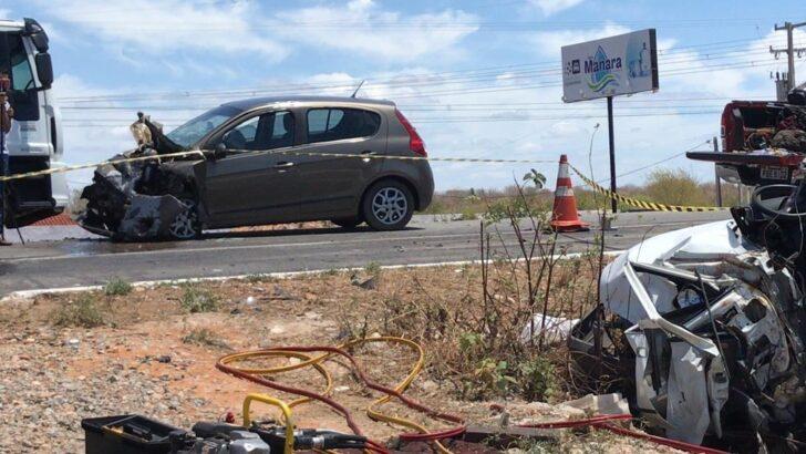 Grave acidente na br-304 deixa um morto e pessoas feridas no interior do rn