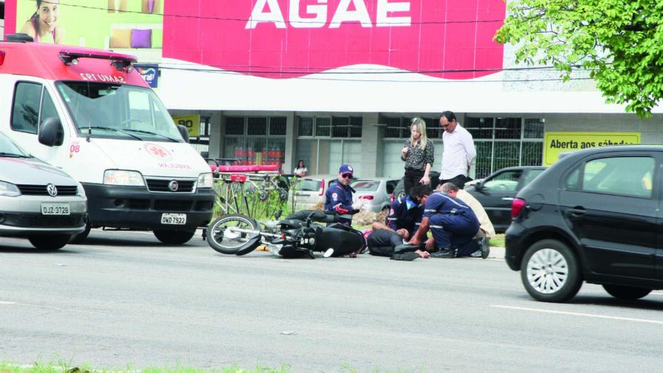 Rn registra 19 acidentes envolvendo motocicletas por dia em 2020