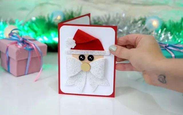 Cartão de natal: saiba como fazer uma lembrança artesanal em casa