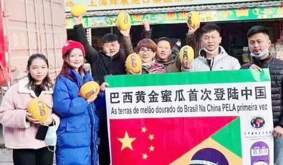 Primeira carga de melão do rio grande do norte desembarca na china