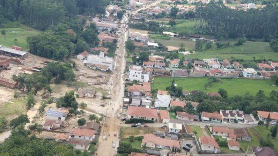 Santa catarina: ministério reconhece estado de calamidade em três municípios