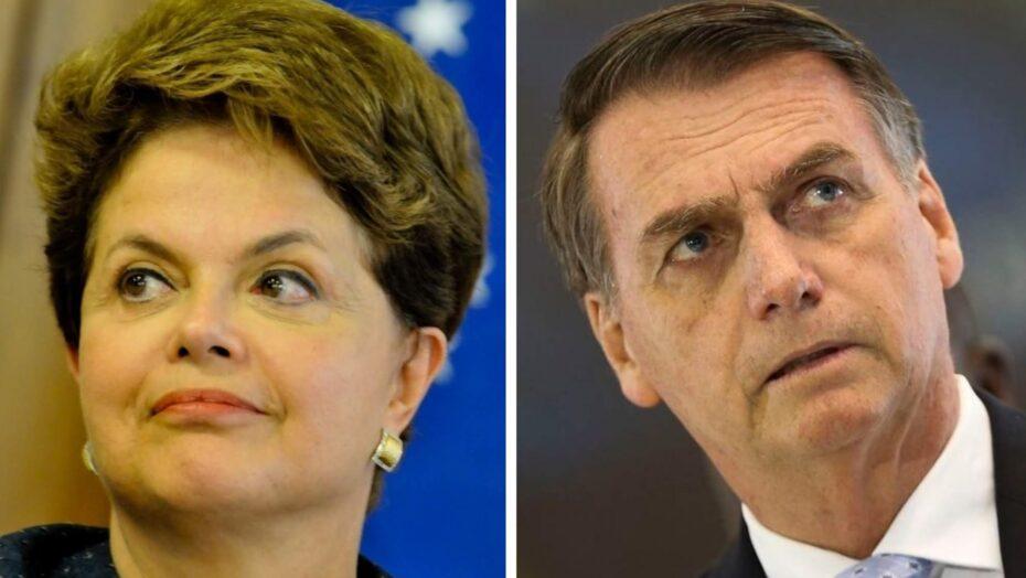 Dilma: bolsonaro age como fascista e escolhe ser cúmplice da tortura e da morte