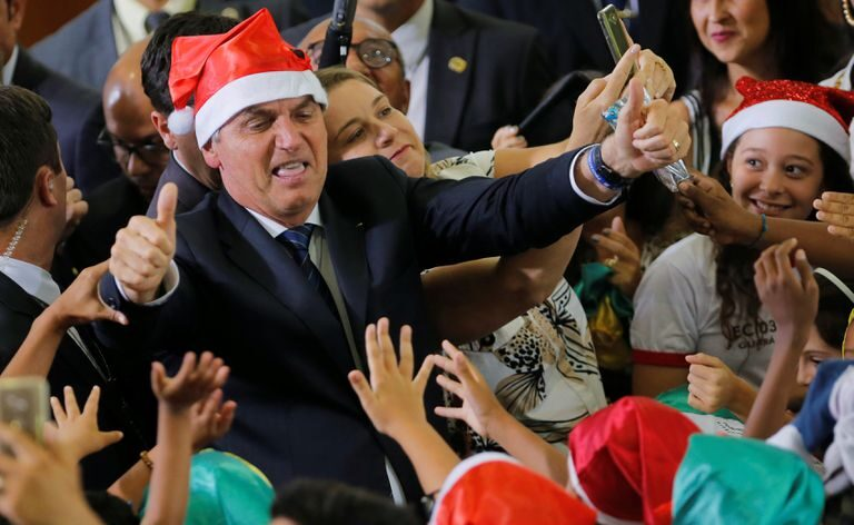 Bolsonaro fará 'live' nas redes seguida de pronunciamento de natal na quinta