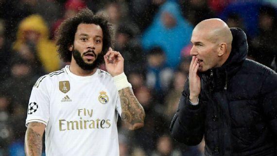 Zidane lamenta situação de marcelo e isco no real: 'me dói a situação que vivem'
