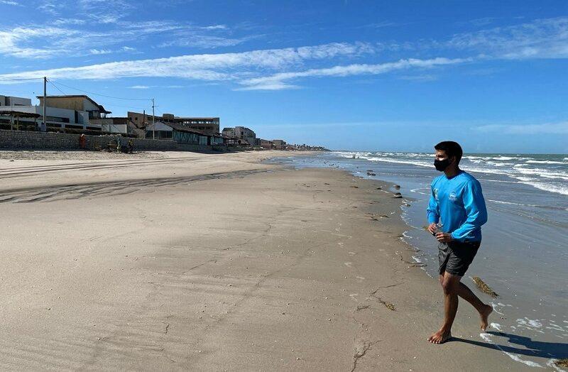 Quatro trechos de praias do rn estão impróprios para  banho