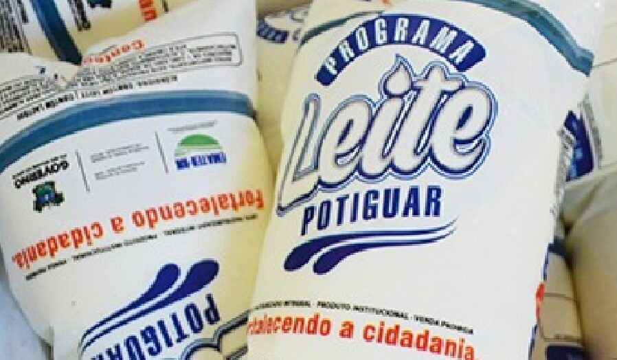 Governo do rn reajusta temporariamente valor repassado aos fornecedores do programa do leite potiguar