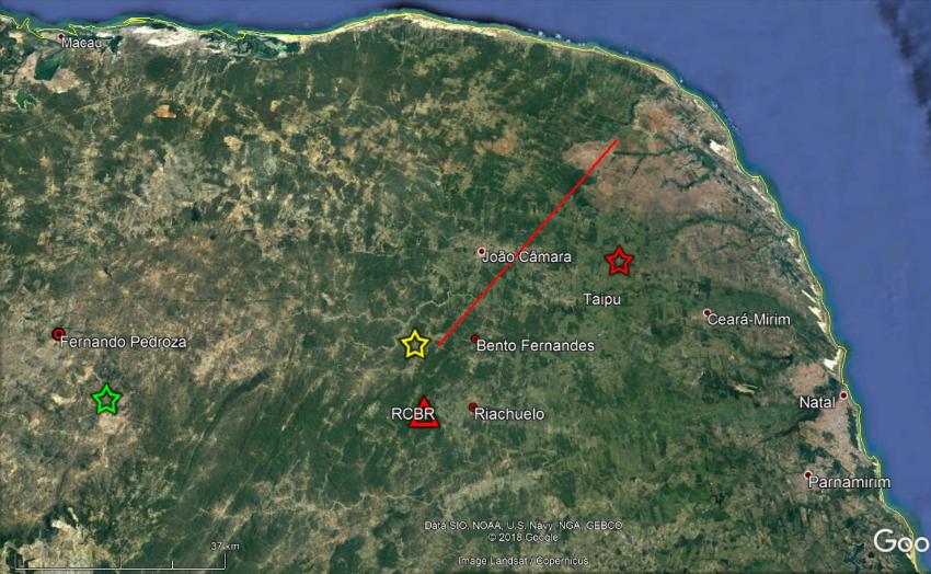 Rio grande do norte registrou 98 tremores de terra em 2020