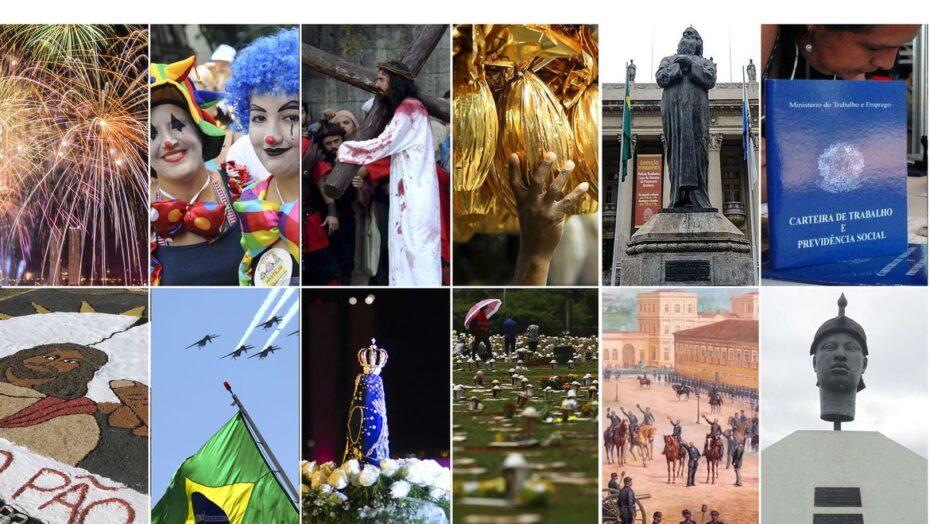 Governo divulga feriados e pontos facultativos de 2021 para órgãos federais