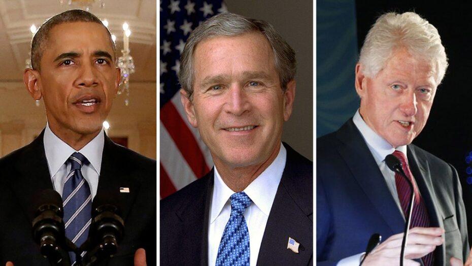 Ex-presidentes americanos, obama, bush e clinton querem tomar vacina contra covid na tv