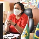 Fátima vai a brasília para discutir vacinação; saúde libera quase r$ 2 milhões para rede de frio do rn