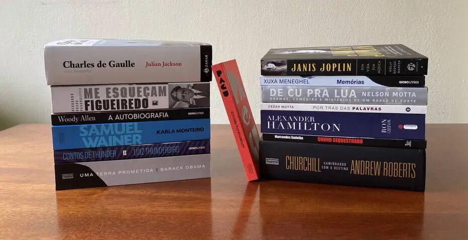 Ano foi marcado por autobiografias e biografias de grande qualidade técnica