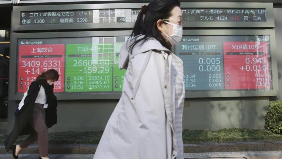 Mutação do coronavírus continua afetando bolsas internacionais