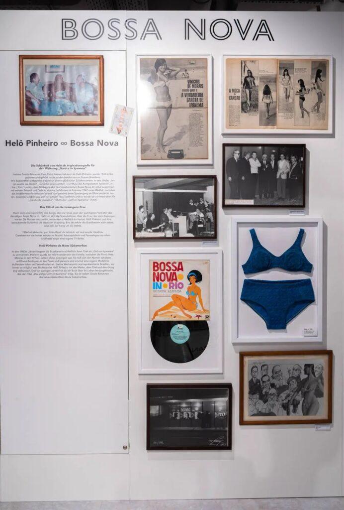 Helô pinheiro tem biquínis dos anos 1960 expostos em museu na alemanha: 'me sinto privilegiada'