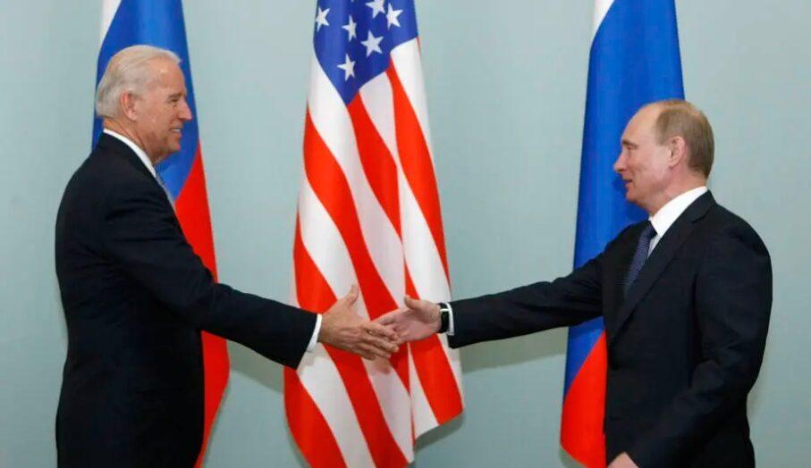 Putin parabeniza biden por vitória nas eleições dos estados unidos