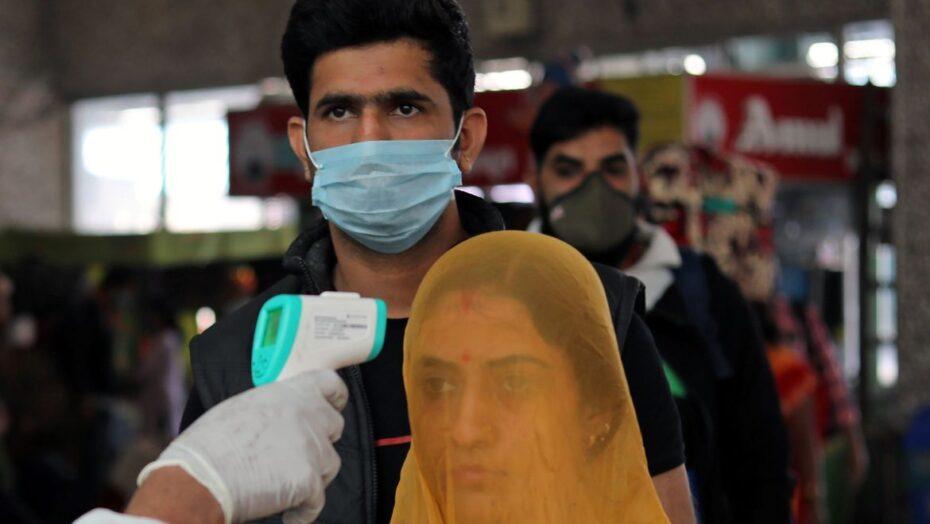Pandemia: Índia ultrapassa 10 milhões de casos de covid-19