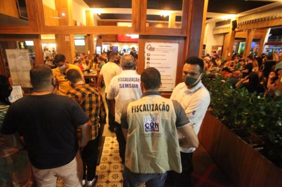 Prefeitura continuará com fiscalização em bares e restaurantes